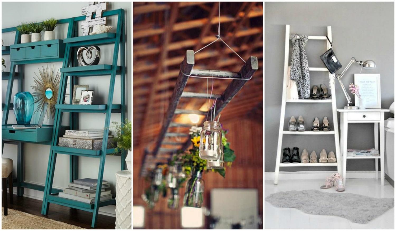 Létra újratöltve – Hogyan használd a lakberendezésben?