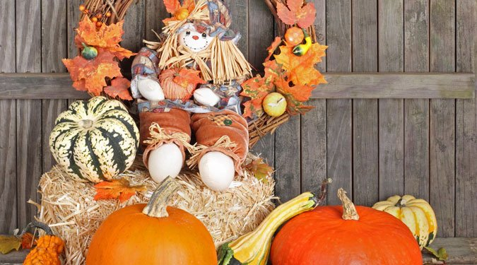 Lakásdekorálás az ősz díszeivel
