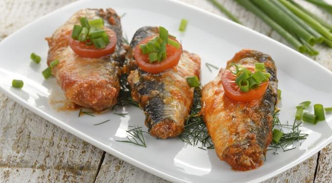 Laktató, egészséges, finom és tápláló étel: a szardínia