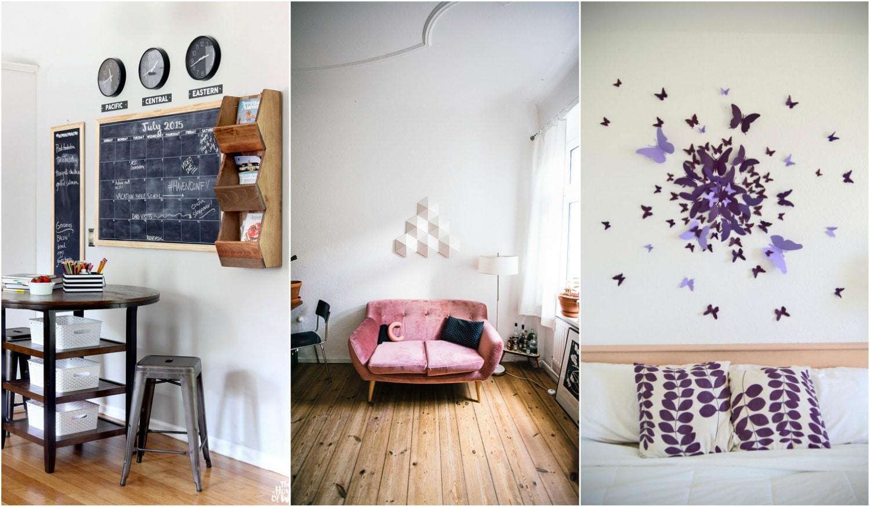 Le az unalmas falakkal! Izgalmas dekorációk az otthonodba poszter helyett