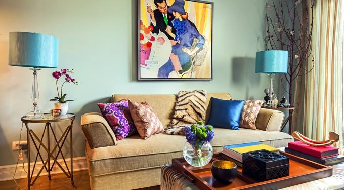 Lenyűgöző lakás dekoráció díszekkel és kiegészítőkkel