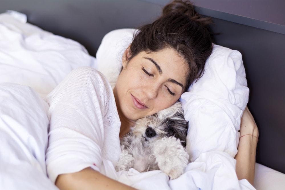 Mégis jót tesz, ha a kutyáddal alszol? 4 érv, ami szerint nagyon is!