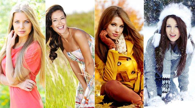 Melyik évszak típusba tartozol és milyen színeket viselj