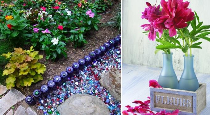 Mesés dekorációs ötletek üres üvegekkel