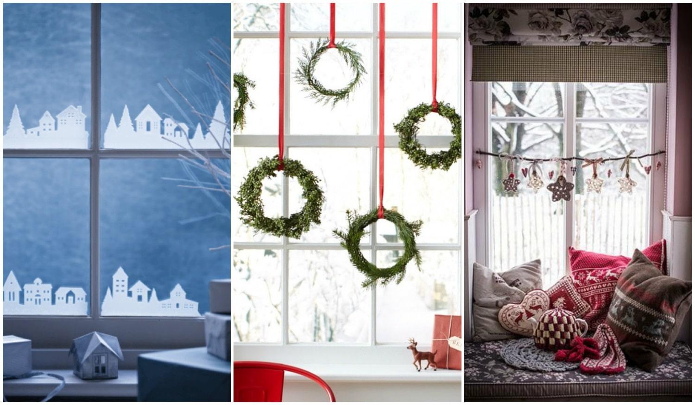 Meseszép karácsonyi ablakdíszek – Így készítsd el őket!