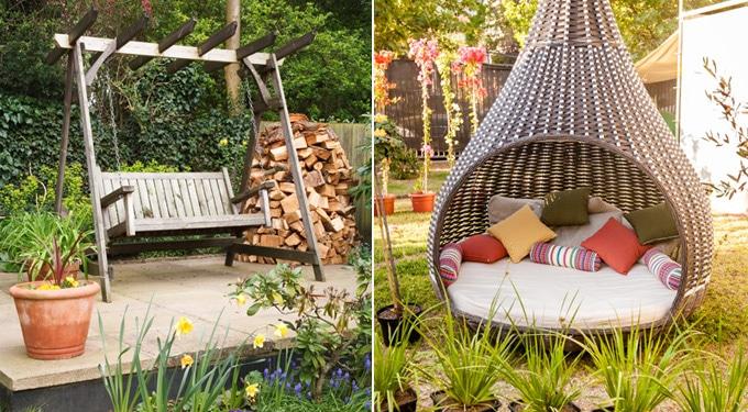 Meseszép kertek és kültéri pihenőhelyek