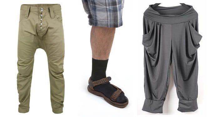 Minden idők legrondább ruhatrendjei