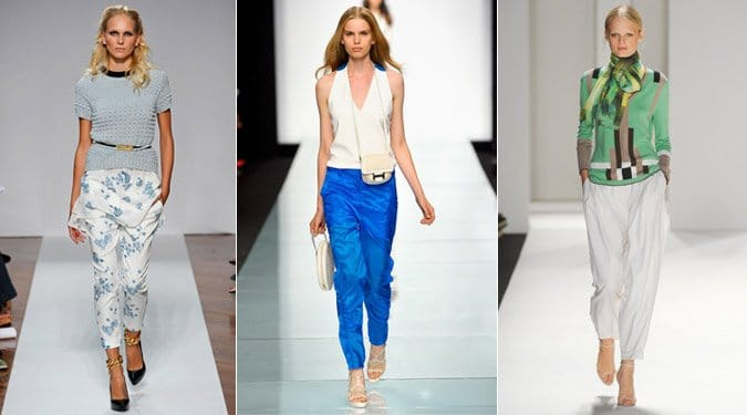 Nadrág trendek 2012 tavaszra