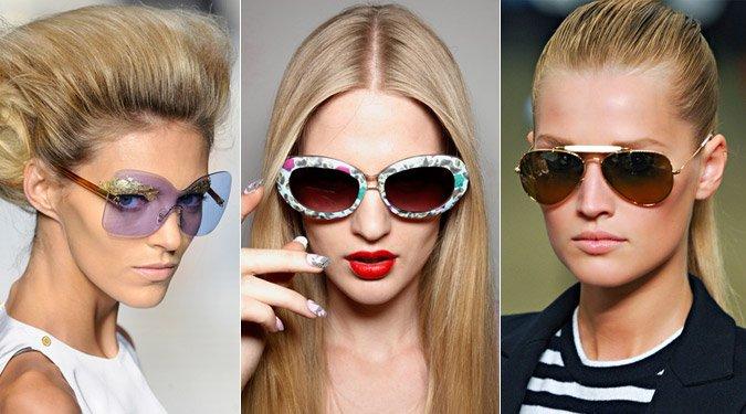 Napszemüveg trendek 2012 nyár