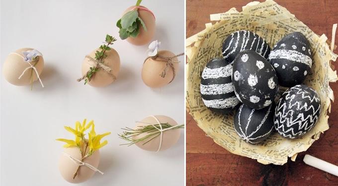 Nem mindennapi tojás dekorációk – Ha a festés már unalmas