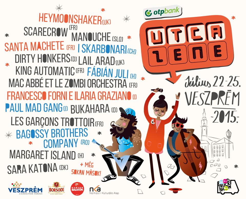 Nemzetek és zenei stílusok kavalkádja – Irány a Veszprémi Utcazene Fesztivál!