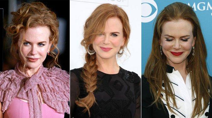 Nicole Kidman frizurák