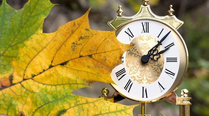 Október 28: a nyári időszámítás vége