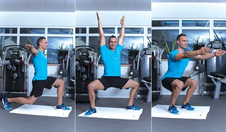Otthoni edzés Katus Attilával 1. – Gyakorlatok lábra és fenékre