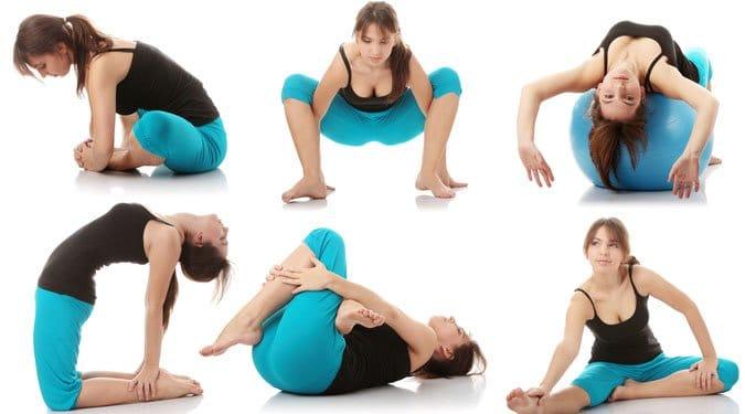 Otthoni jóga gyakorlatok, képekkel