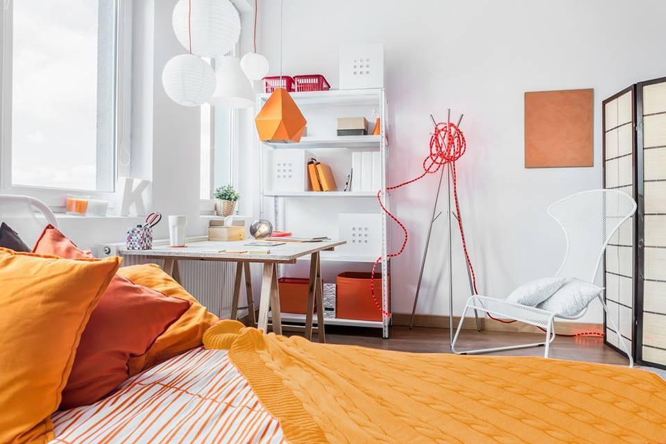 Otthonunk színei – A narancssárga pszichológiája és alkalmazása a lakásban