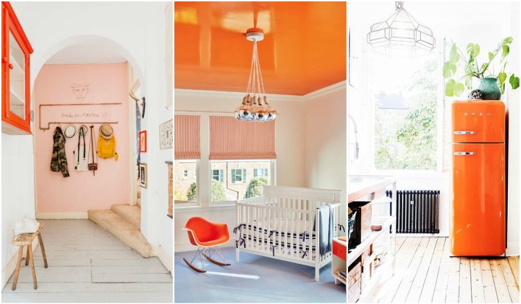 Így használd a narancssárgát az otthonodban!