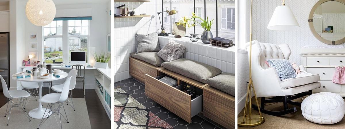 Praktikus és dekoratív: használd ki az ablak alatti teret – ötletek