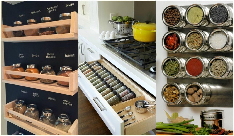 Rendszerezd a fűszereidet! Izgalmas és praktikus megoldások a konyhádba