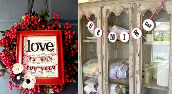 Romantikus Valentin-napi dekorációk, amiket gyorsan elkészíthetsz
