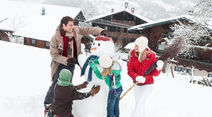 Romantikus téli falusi üdülés Ausztriában