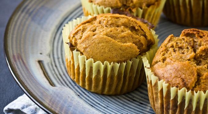 Sütőtökös muffin recept, omlósan