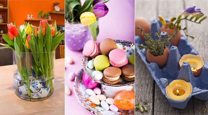Sikkes húsvéti lakásdíszítés