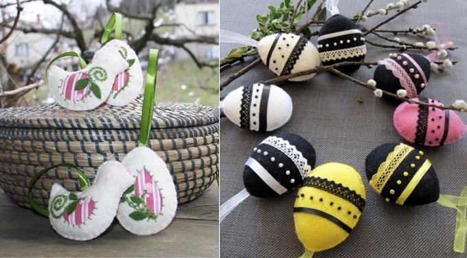 Sikkes húsvéti tojások saját kezűleg