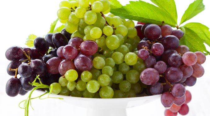 Szépség tippek szőlővel