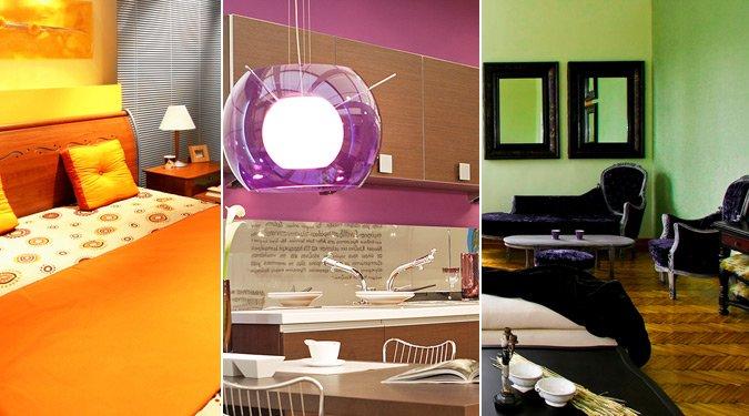 Színterápia a lakásban