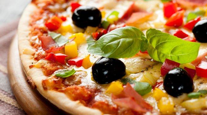 Szalonnás-sütőtökös pizza