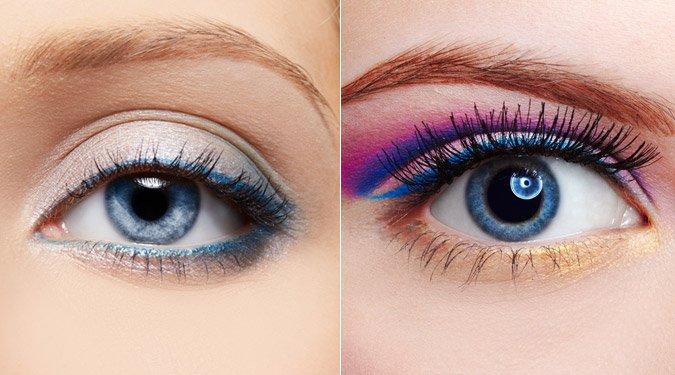 Szemfestési tippek kék szemre