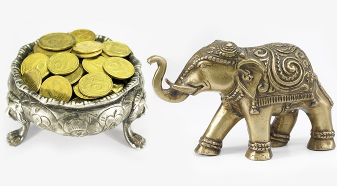 Szerencsét hozó tárgyak a lakásban: pénz és szerelem