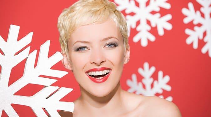 Szexi rövid frizurák karácsonyra és szilveszterre