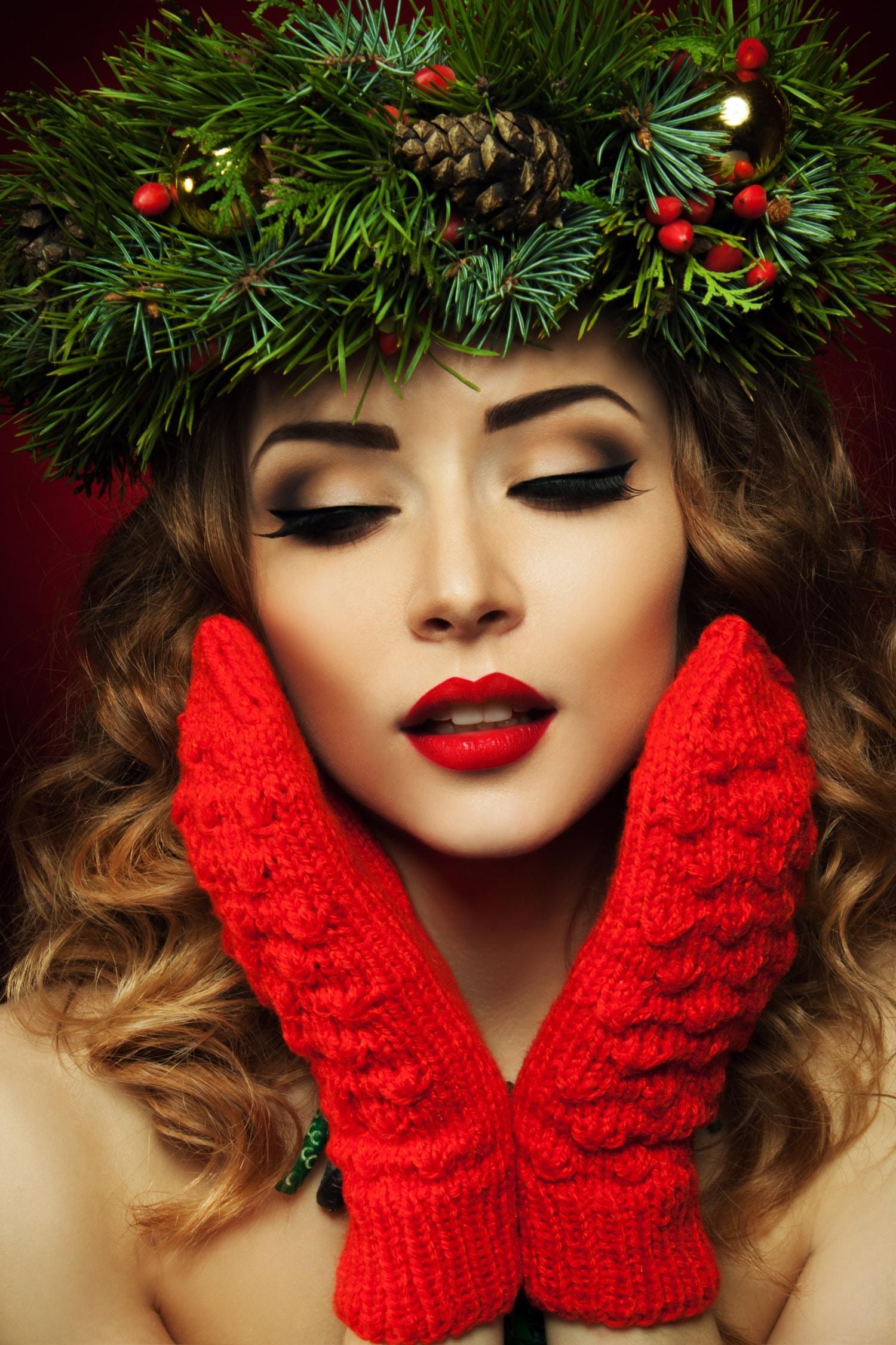 Téli és ünnepi sminkek az idei divat szerint