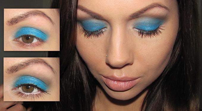 Tavaszi vibráló kék szemhéj, Marc by Marc Jacobs módra