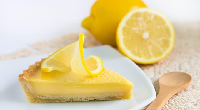 Tejszínes-citromos sütemény