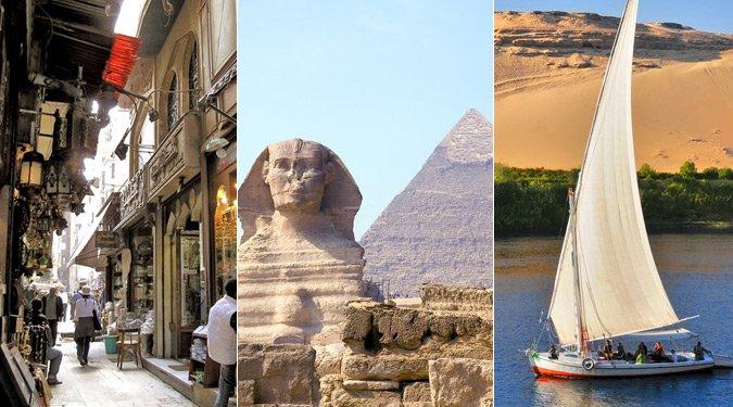 Top 10 látnivaló Egyiptomban