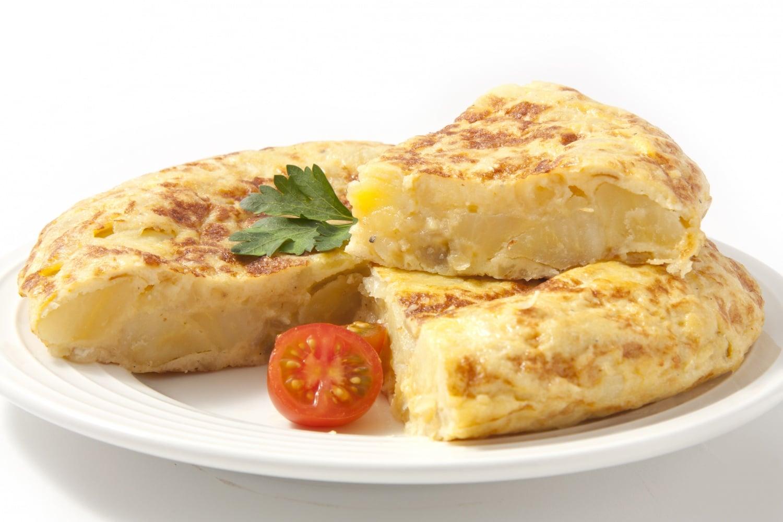 Tortilla tojással és krumplival