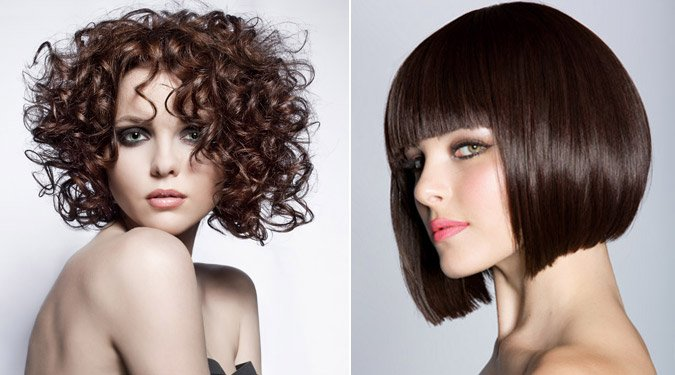 Vadító félhosszú frizurák