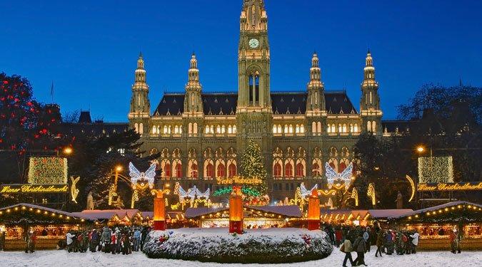 Varázslatos karácsonyi vásárok Bécsben