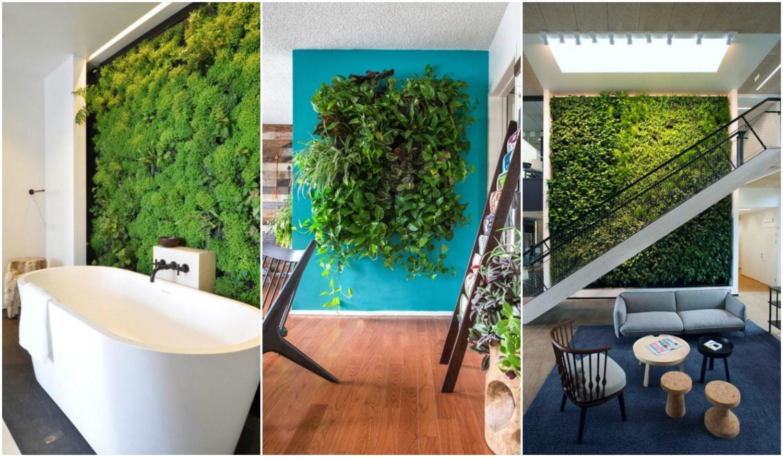 Vidd be a természetet a szobádba! Zöld növényfalak a lakásban