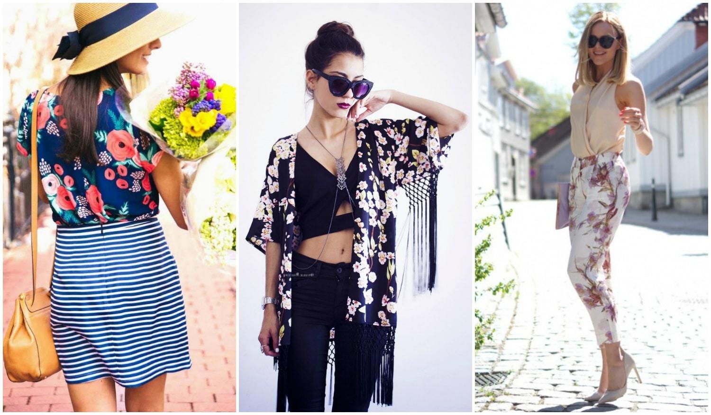Virágok mindenhol! – Tavaszi outfit inspirációk