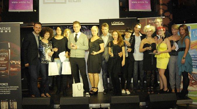 Díjnyertes frizurák: Hajas Cut&Color Competition 2011