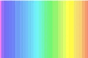 Színlátás teszt – Figyeld meg a képet, és számold meg, hány színt látsz