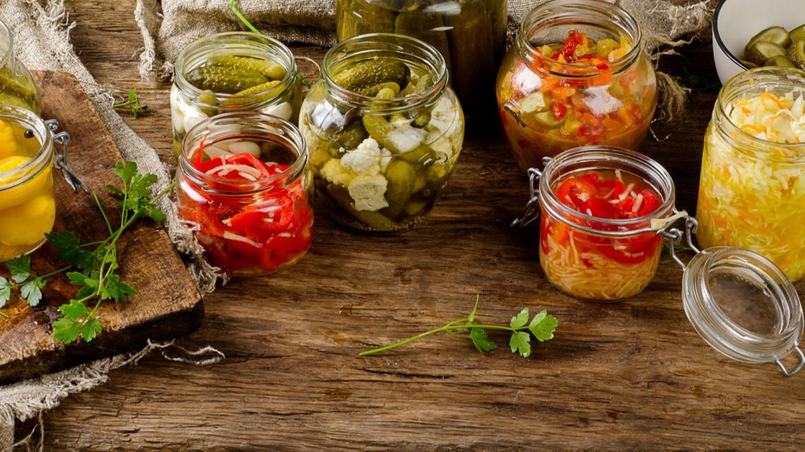 Fermentált gyümölcsök és zöldségek