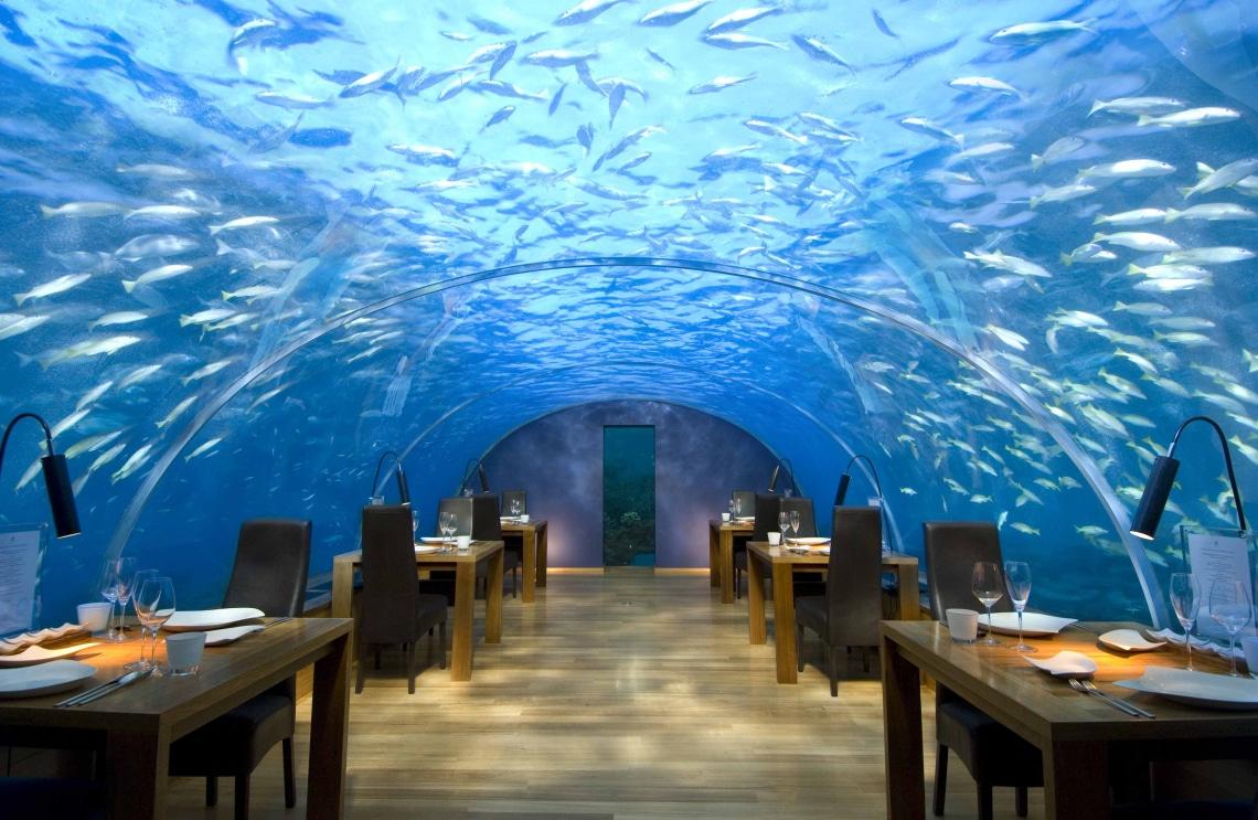 Red Sea Star vízalatti étterem, Eilat, Izrael