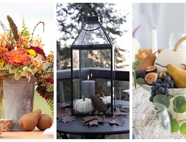 10 gyönyörű őszi asztaldísz, ami alkalmivá teszi otthonodat