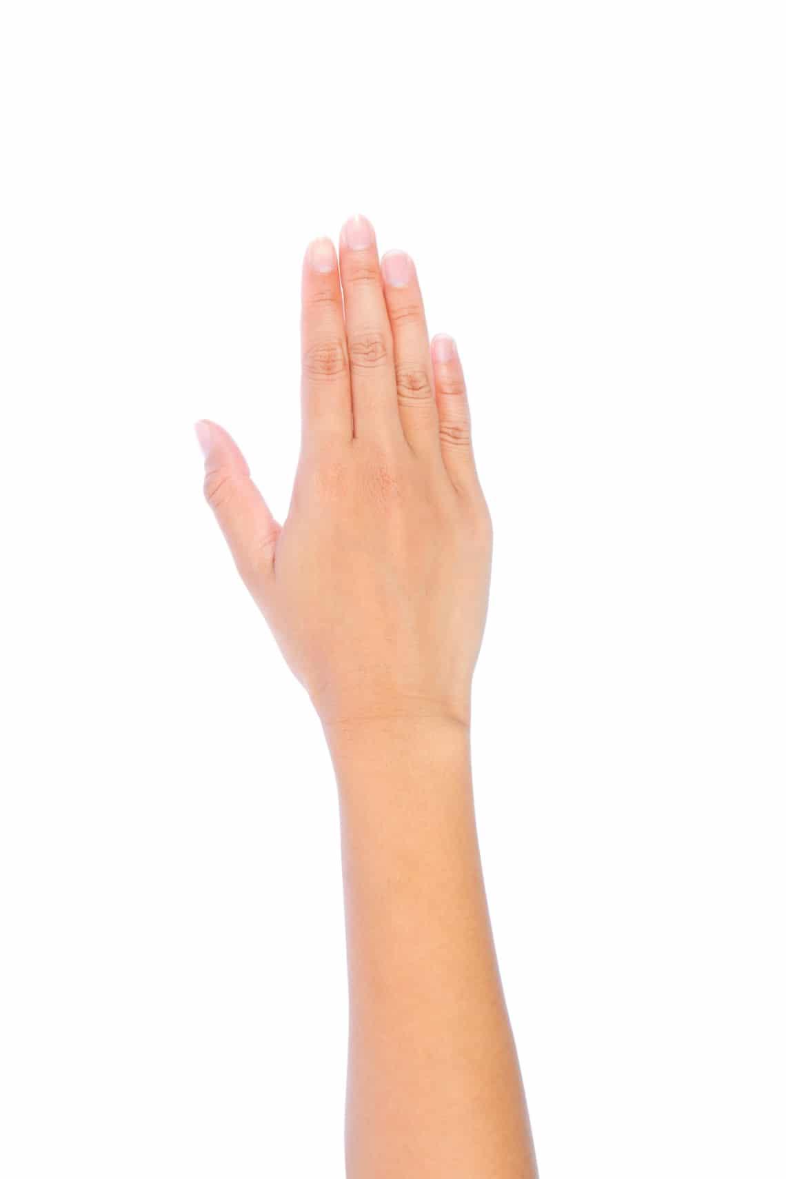 A vízcsepp kéz