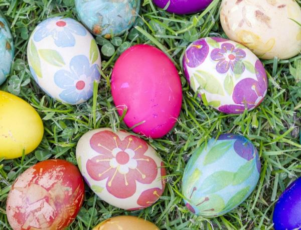 Így díszítsd a húsvéti tojást, ha nem bízol a kézügyességedben (Galéria)